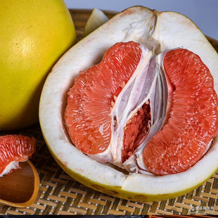 有机新鲜孕妇水果 批发赣南甜蜜柚 红心柚 绿色有机健康