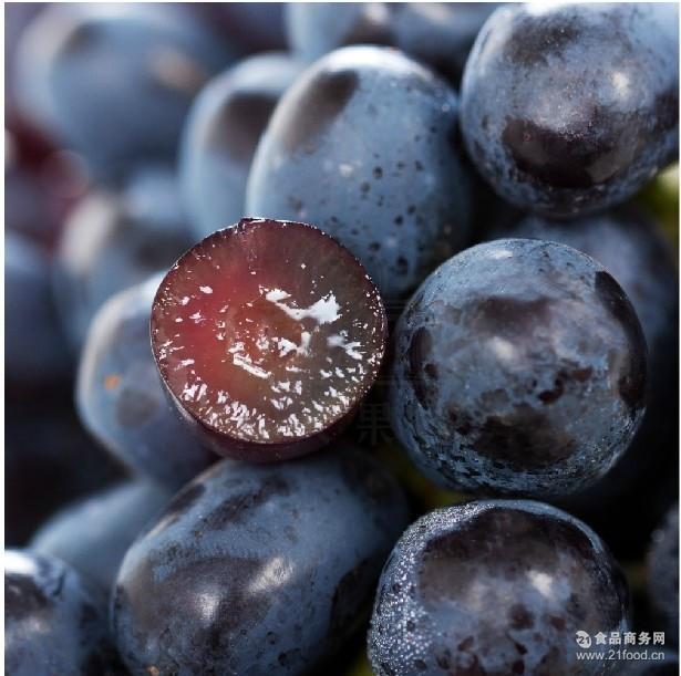 水果批发 预售 新鲜 黑提子 黑加仑提子 香甜饱满提子