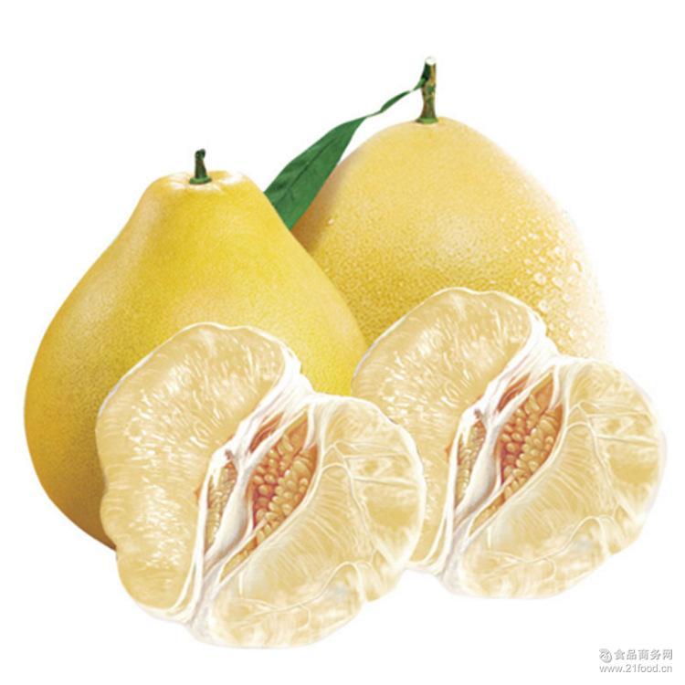 果肉脆嫩 绿色纯天然蜜柚 正宗井岗蜜柚 产地直销