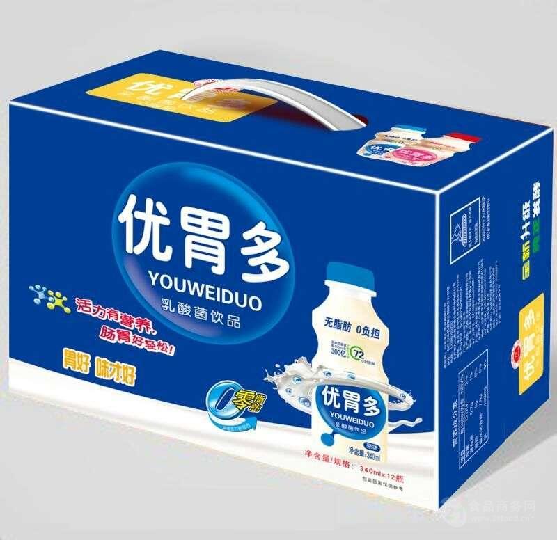 厂家供应优胃多340毫升乳酸菌饮料