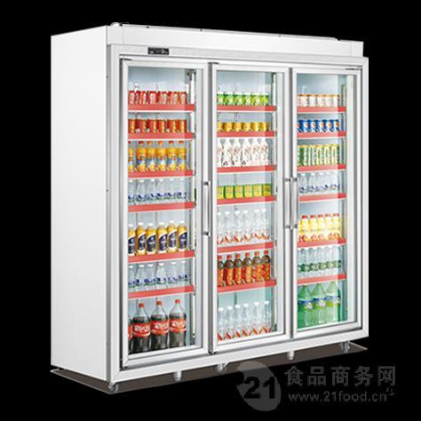 黑龙江三门超市冷柜饮料展示柜