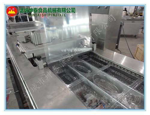 麻辣小龙虾真空包装机  盒装龙虾全自动真空包装机