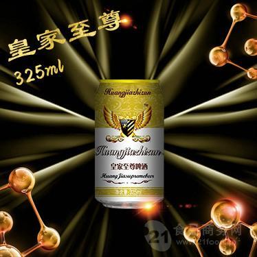 325毫升  易拉罐啤酒(白金版)