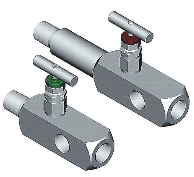 进口压力表针型阀