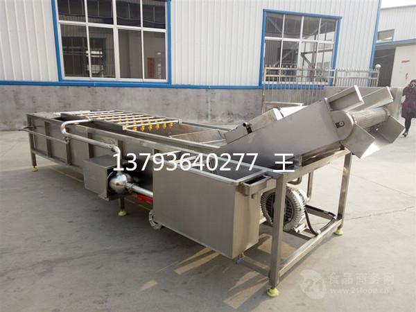 清洗风干线生产厂家 蔬菜清洗机