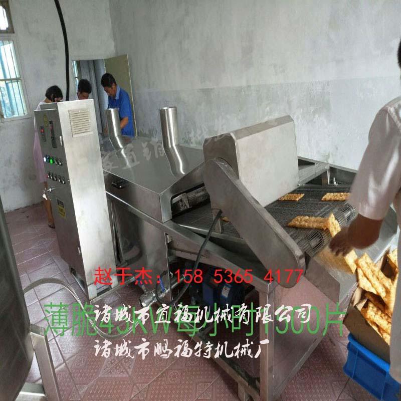 山东菜饼电加热油炸机多少钱 山东 油炸设备