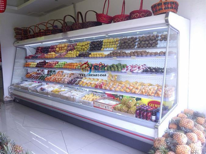 水果展示柜定做果蔬立式风冷保鲜柜超市开放式水果存放柜
