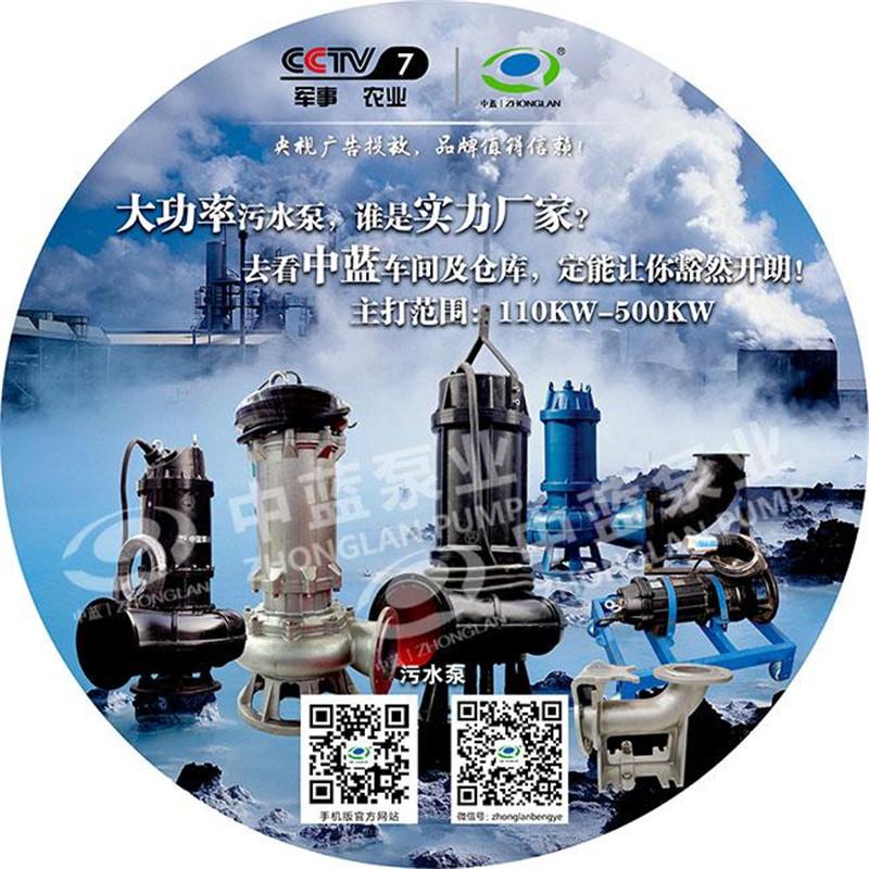 WQ大流量潜水排污泵