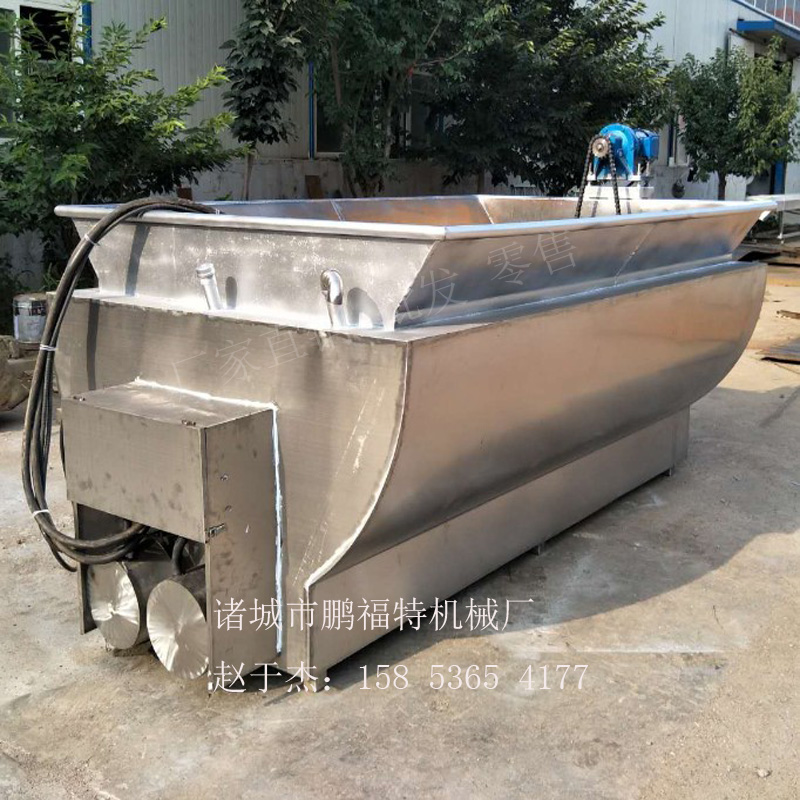 黑龙江鸭黄油脂炼油锅多少钱一台  山东  屠宰设备