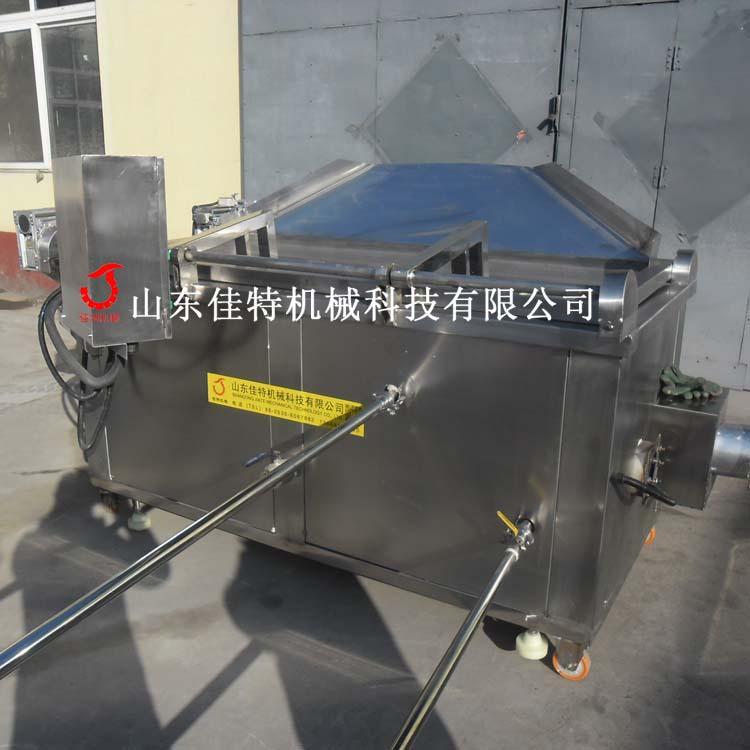 全自动油面筋油炸机 油温可自控