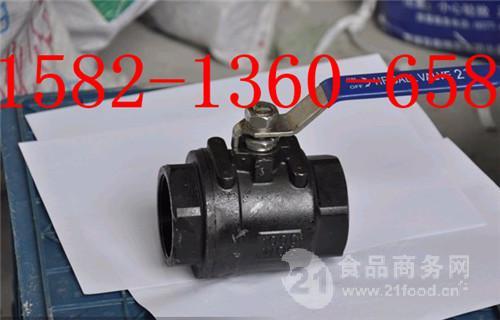 碳钢发黑丝扣二片式球阀Q11F-16C DN15