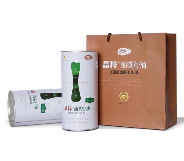 江西润心纯茶油1.6L礼盒装全国招商