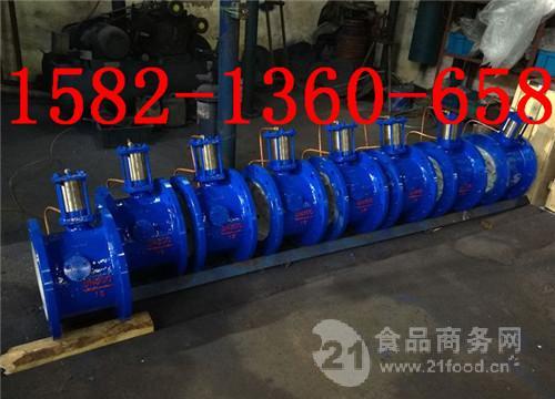 铸钢法兰活塞式管力阀BFDG7H41HR-10C DN400