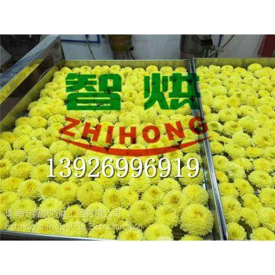 优良菊花干燥工艺的智烘牌金丝贡菊烘干机ZH-JN-HGJ03