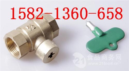 十字形/型自来水暖气阀门磁性锁闭阀钥匙图片