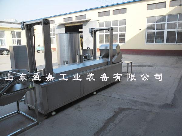 专业生产河南电加热薄脆油炸机