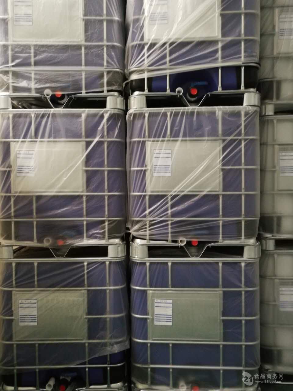 20尺集装箱装20只ibc吨桶