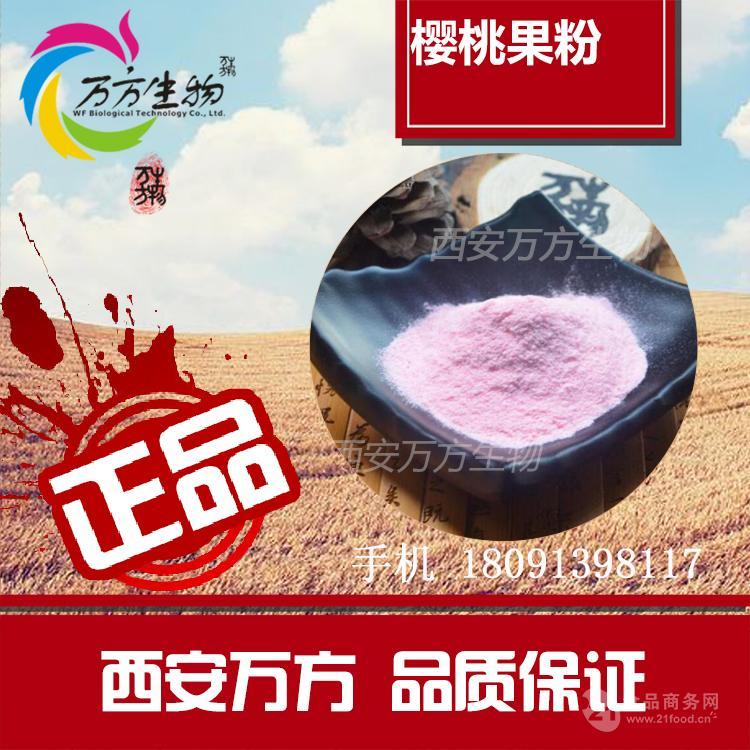 针叶樱桃果粉  优质果蔬提取  樱桃果粉批发价格