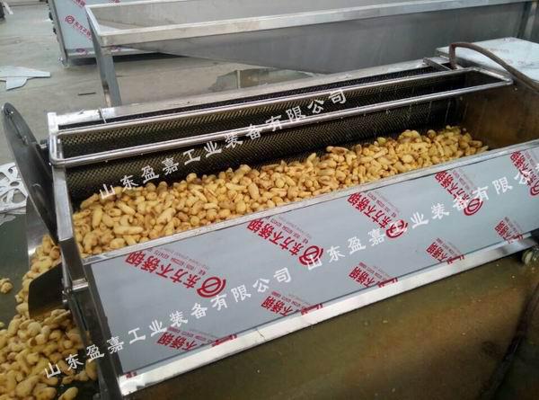 马铃薯去皮清洗机 土豆去皮清洗一体机