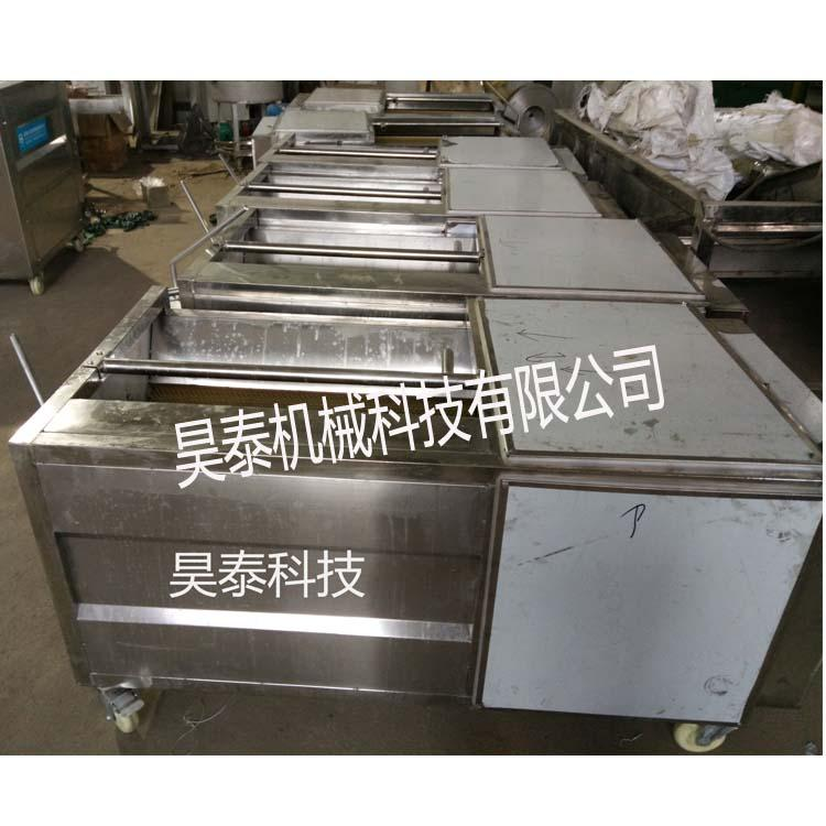 昊泰HTX-1000 海蛎子毛辊清洗机 猪头猪蹄清洗机