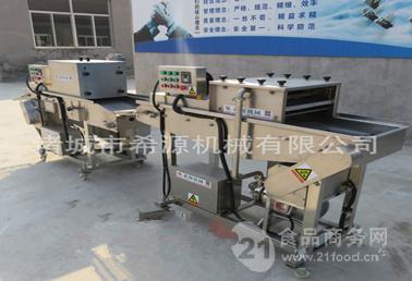 全自动面包虾裹粉机生产线供应厂家