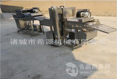 定制鸡腿裹面包糠机专用设备批发价格