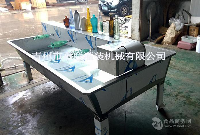 【惠联】啤酒瓶/白酒瓶/细口瓶sp-6型6头刷瓶机,简易型,易操作图片