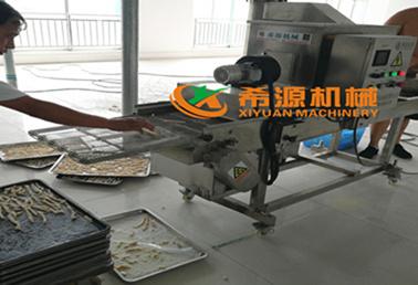 畅销款面包虾裹粉机专用设备哪里有卖