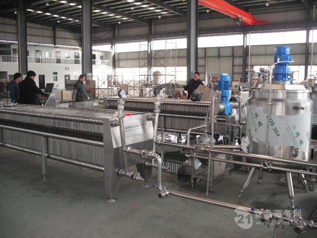 600板框硅藻土过滤机—食用醋专用过滤机