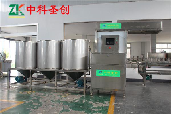 南昌市红谷滩区自动豆腐干生产线,数控豆腐干机