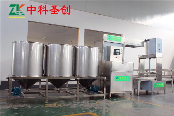 南昌市南昌县制作豆腐干机器设备