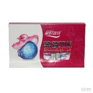 直销包邮 小兴安岭蓝韵森林野生蓝莓原汁糖 软糖零食果汁软糖