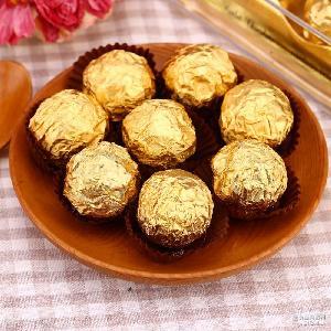 休闲零食 批发OEM代工贴牌费列罗 散装金莎纯可可脂巧克力 喜糖