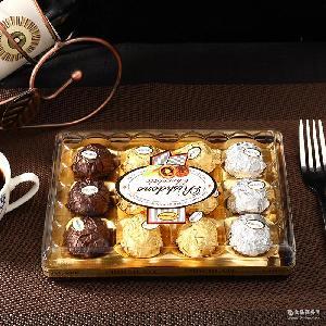 瑞诗丹莲T12方盒款礼盒结婚喜糖糖果情人节金莎巧克力批发
