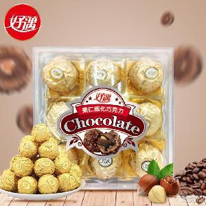 送女友礼物糖果巧克力8粒106g 休闲食品婚庆巧克力散装零食批发