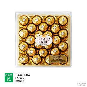 费列罗欧版榛果威化巧克力T24粒 巧克力 金沙 意大利原装进口