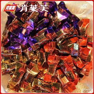 厂家货源纯巧克力批发 创意款婚庆喜糖5斤装儿童零食休闲食品糖果
