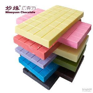 烘焙巧克力 甜甜圈爆米花喷泉巧克力原料黑白彩色烘焙巧克力1kg