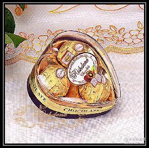 瑞诗丹莲T3三粒爱心形礼盒结婚喜糖糖果情人节金莎巧克力批发