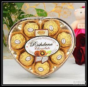 瑞诗丹莲八粒心形款礼盒结婚喜糖糖果情人节金莎巧克力批发