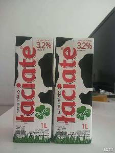 波兰进口乐思得全脂纯牛奶1L*12盒 *牛奶
