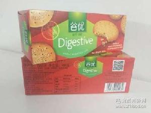 进口零食知识蛋糕原料 Gullon谷优消化饼饼干400g 西班牙进口饼干