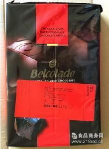 培乐道黑巧克力砖 比利时原装进口贝克拉黑巧克力块C501/J