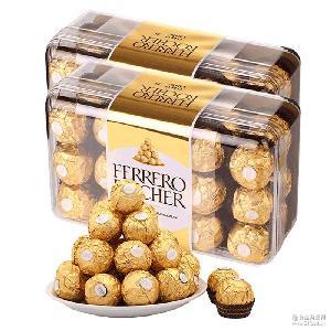 进口费列罗榛果威化巧克力T30 进口巧克力 整盒30颗 结婚喜糖