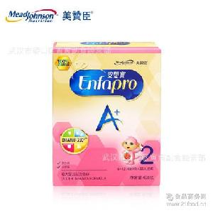 一箱15盒 6-12个月 美赞臣2段新品奶粉400g安婴宝A+婴儿奶粉