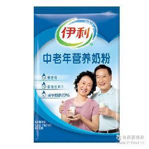 伊利中老年营养奶粉400g袋装成人老人牛奶粉