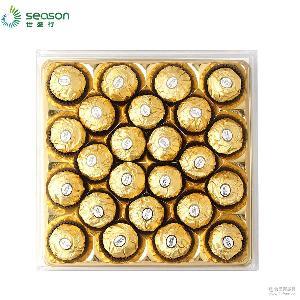 费列罗欧版榛果威化巧克力T24粒 金沙 巧克力 意大利原装进口