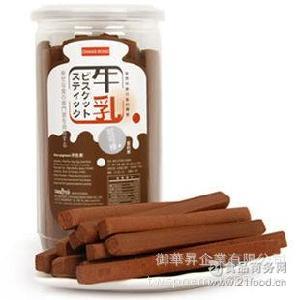 厂家直销健康台湾进口饼干 松屋可可棒美味迷你休闲零食可定制