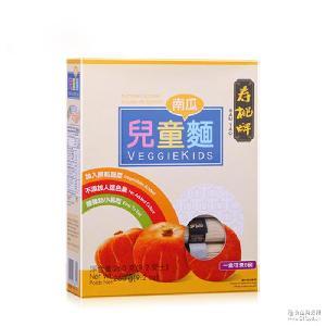一件代发香港寿桃牌儿童面宝宝面条挂面加入南瓜粒辅食小样9个月