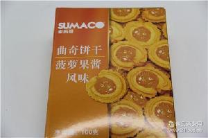 素玛哥牌曲奇(菠萝果风味)进口饼干批发零售饼干销售